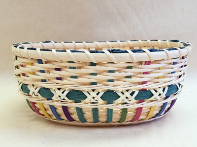 small oval willow basket for gift giving storage.htm group six  group six